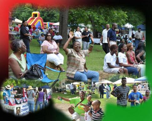 Juneteenth celebrations at Goodsell United Methodist Church in Lanett, Alabama. Photo courtesy of Goodsell United Methodist Church.