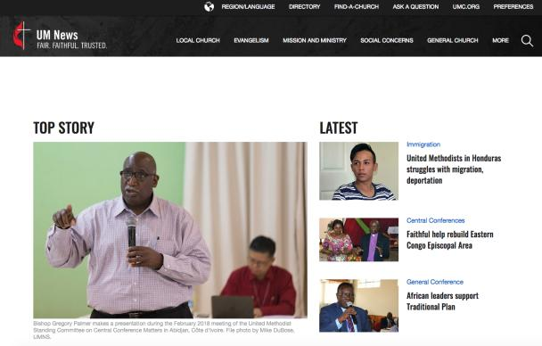 UMNews.org offers engaging multimedia content and photographs that illustrate the news stories.