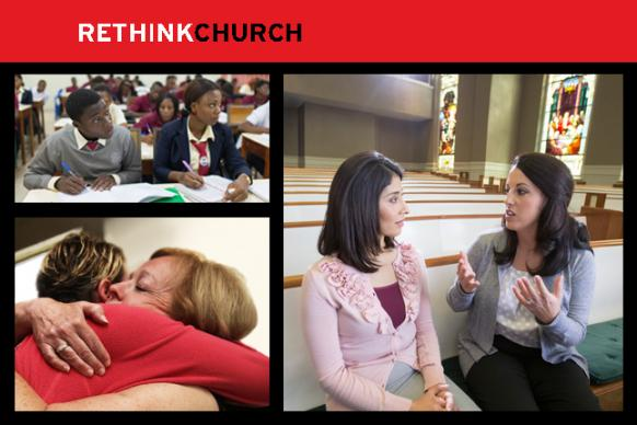 Image from Women's Empowerment campaign for RETHINK CHURCH. Promo by Laurens Glass for United Methodist Communications.