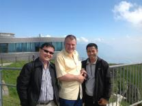 The Rev. Stefan Pfister mentors Cambodian pastors. Photo courtesy of the Rev. Stefan Pfister.