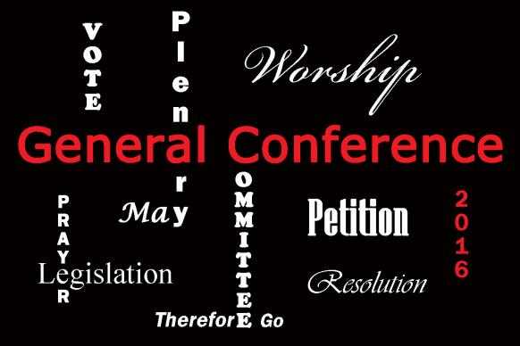 Graphic of terms used during General Conference 2016 by Laurens Glass, courtesy of  United Methodist Communications.
