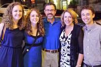 Diane, Rachel, Joe, Judi and Connor Kenaston. Photo courtesy the Kenastons, for United Methodist Communications.
