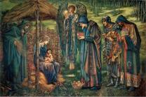 The Star of Bethlehem, a watercolor by Edward Burne-Jones, Birmingham Museum and Art Gallery. Image courtesy of Wikimedia Commons.