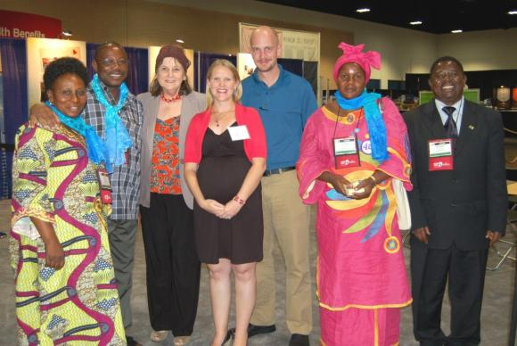 United Methodist missionaries planting new churches in Tanzania. 4/24/12 Photo: Christie R. House/Global Ministries