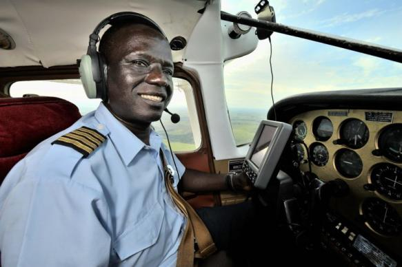 Jacques Umembudi, missionary pilot in the DR Congo