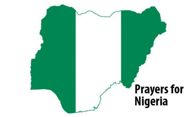 Prayers for peace in Nigeria