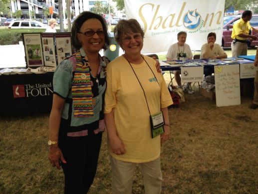 Mary Ellen Kris (right)