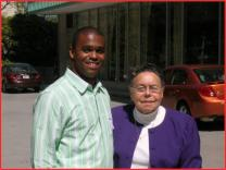 Larry R. Hygh and the late bishop Leontine Kelly.