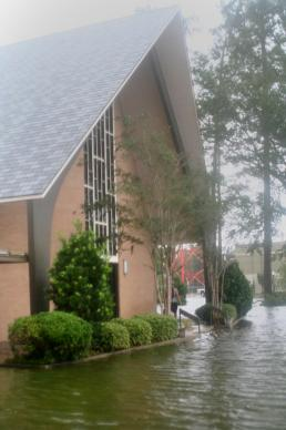 First United Methodist in Slidell escaped the kind of damage it sustained during Hurricane Katrina seven years ago. Photo courtesy of First United Methodist Church of Slidell.