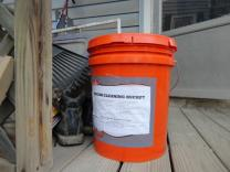 Help get cleaning buckets to Hurricane Sandy survivors. Photo by Susan Kim.