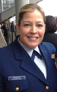 The Rev. Jen Bowden, United Methodist Navy chaplain
