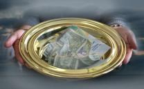 Two and one-half cents out of every dollar given to local churches is used to support general church ministries. A UMNS photo illustration by Kathleen S. Barry.