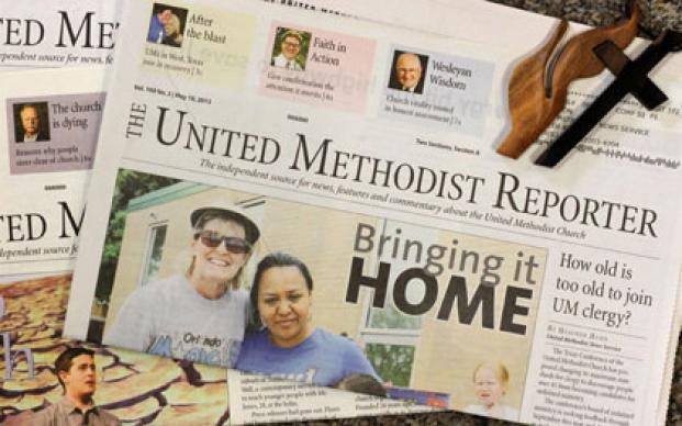 The United Methodist Reporter ceased publication in 2013. A UMNS photo by Kathleen S. Barry.