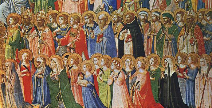 On All Saints Day we remember those who have gone before us in the faith.
