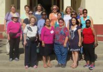 Participants of the Cuban travel seminar for clergywomen sponsored by General Board of Higher Education and Ministry and Boston School of Theology. Photo courtesy, GBHEM.