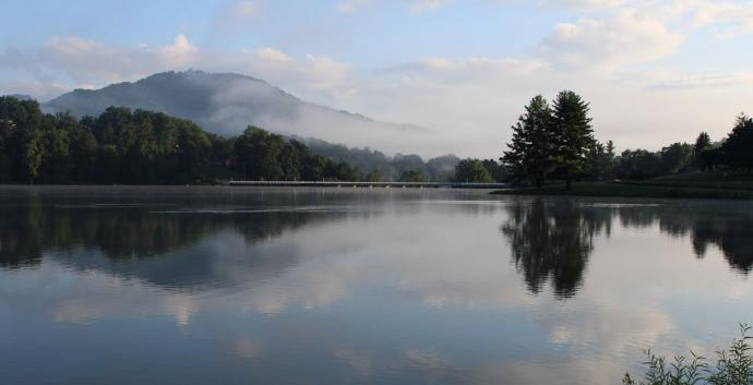 A nature scene from Lake Junaluska in North Carolina. Photo by Kay Panovec, United Methodist Communications.