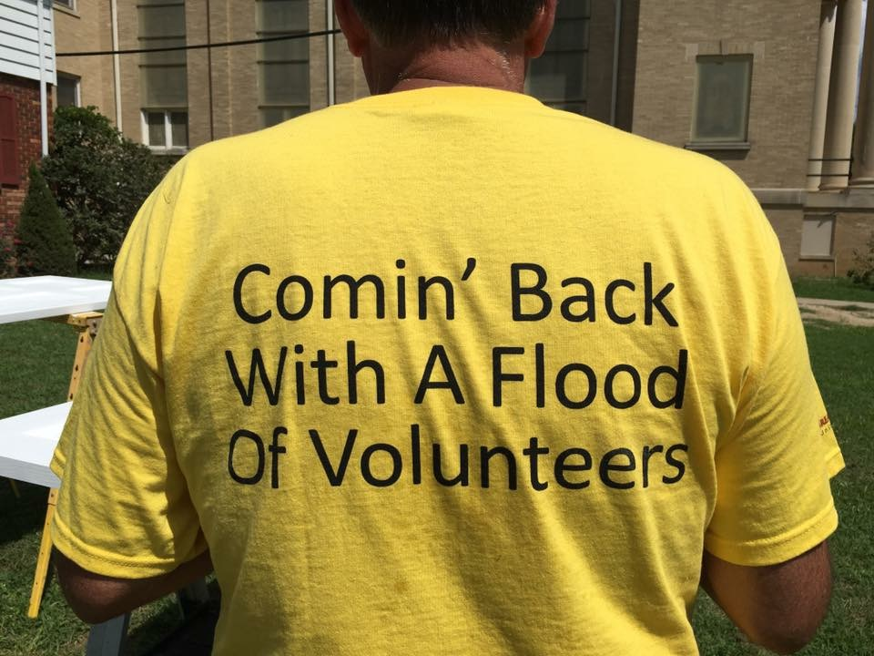 Give to UMCOR who serves during disasters.