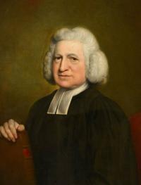 Portrait of Charles Wesley by John Russell