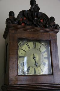 This clock once owned by John Wesley, is on display at Wesley family home in Epworth, England.