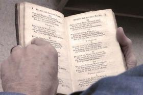 "John and Charles Wesley's first hymnal was called ""Hymns and Sacred Poems."""