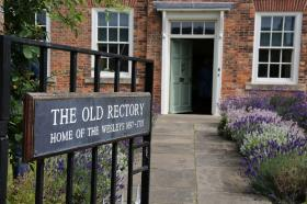 The Old Rectory in Epworth was the family home of Samuel & Susanna Wesley.