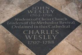 Christ Church proudly celebrates John and Charles Wesley as distinguished alumni.