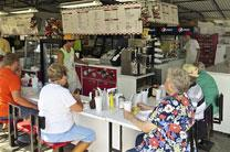 Since 1949, the West Des Moines United Methodist Church food stand continues to serve a full food menu to state fair attendees. Photo courtesy of the West Des Moines United Methodist Church.