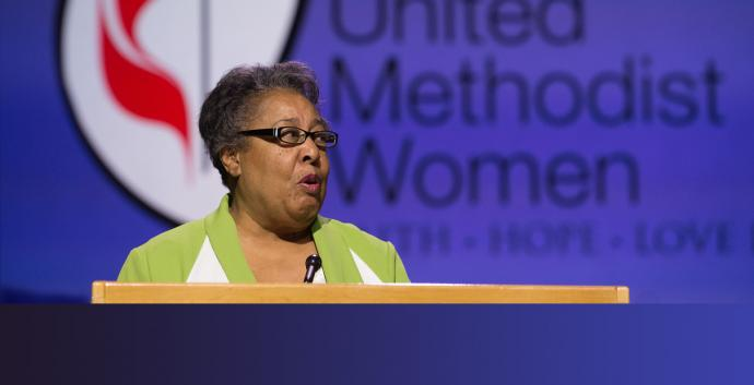 United Methodist deaconess Clara Ester serves as national vice president of United Methodist Women. File photo by Mike DuBose, United Methodist Communications.