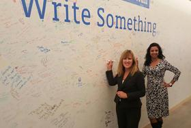Diane Degnan and Poonam Patodia of United Methodist Communications represented the denomination at The Faith Based Leadership Summit in Washington, DC, held at Facebook headquarters.