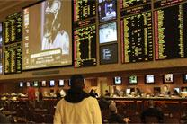 Las Vegas sports book area. Photo by Baishampayan Ghos, courtesy of Creative Commons.
