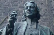 Statue of John Wesley by Paul Raphael Montford, in Melbourne, Australia. Photo by Adam Carr, Wikimedia Commons.