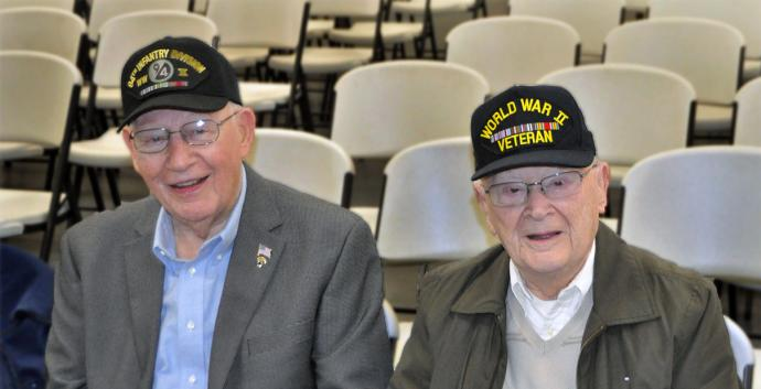 Veterans in our churches reach out to fellow service people. Photo courtesy First United Methodist Church, Crown Point, Indiana.
