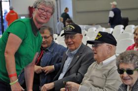 Churches find wonderful ways to say thank you to those who have served.