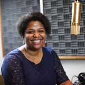 Sheila Bates joined us in our studio to record an episode of Get Your Spirit in Shape. Photo by Kathleen Barry, United Methodist Communications.