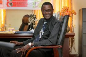 The Rev. Winston Ashcroft of Sierra Leone.