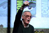 Stan Lee speaking at the 2015 San Diego Comic-Con International in San Diego, California. Photo by Gage Skidmore, courtesy of Wikimedia Commons.