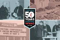 Celebrate the 50th Anniversary of The United Methodist Church with #umc50. Artwork by Steven Adair, United Methodist Communications