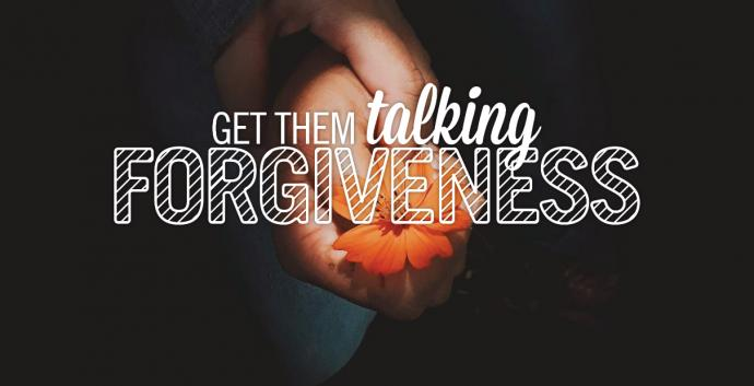 Share these tips to talk with your family about forgiveness. Image by Sara Schork, United Methodist Communications.