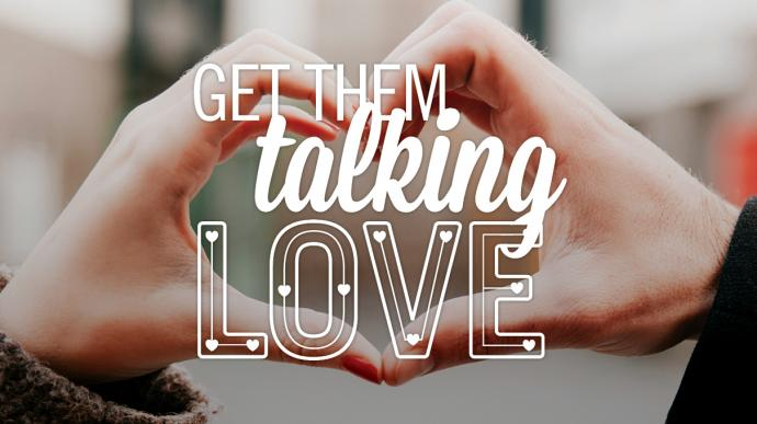 Monthly United Methodist resources help start talks about love and other faith topics. Image by Sara Schork, United Methodist Communications.