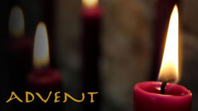 Candles are a frequent sight in churches and homes during the Advent season. Photo illustration by Kathryn Price, United Methodist Communications