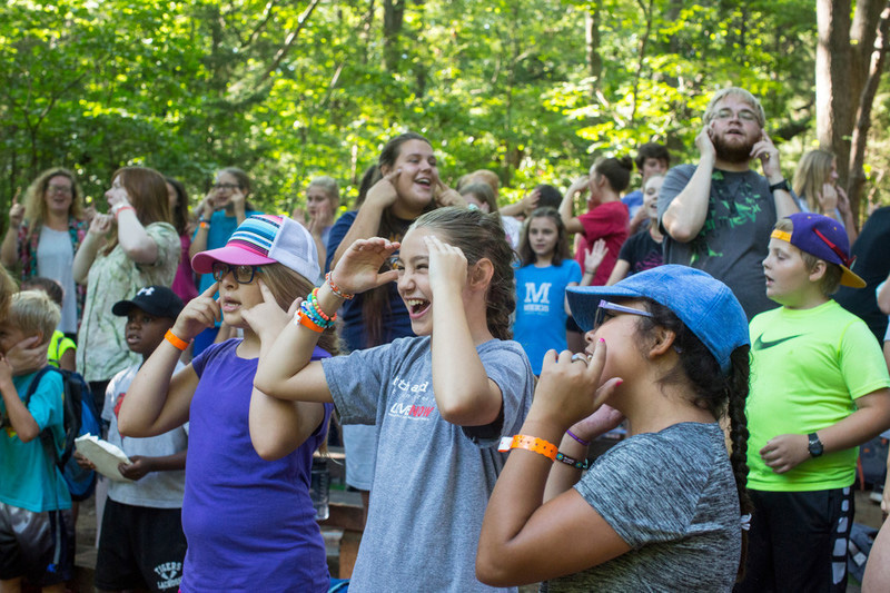 Church camp is fun!