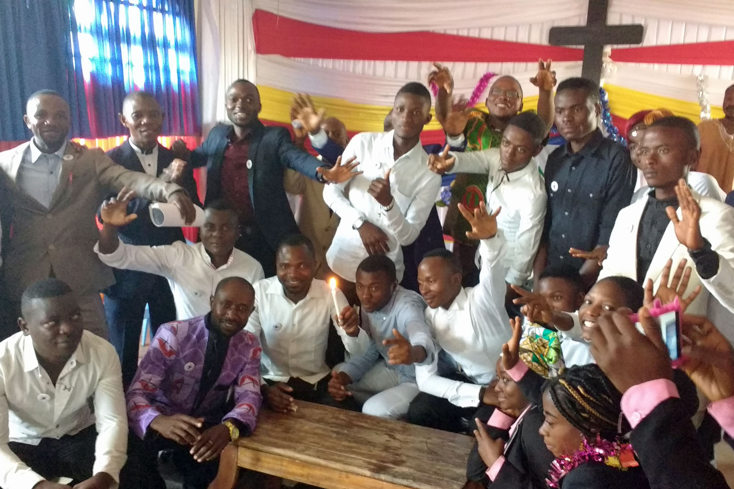 Young people receive peace training through the Kivu Annual Conference of the Eastern Congo Episcopal Area.