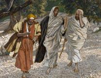 After his resurrection, Jesus meets two men who do not immediately recognize him. Image: