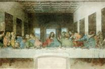 Painting of 'The Last Supper' by Leonardo da Vinci courtesy of  Wikimedia Commons.