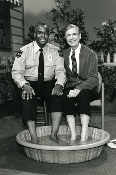 Mr. Rogers and Officer Clemmons teach an important lesson about appreciation.