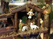 This Nativity is part of the collection in the Nativity Museum maintained by First United Methodist Church in Tullahoma, Tennessee. Photo by Kathryn Price.