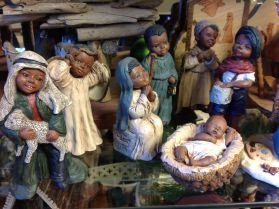 A nativity from the Nativity Museum at First UMC Tullahoma TN