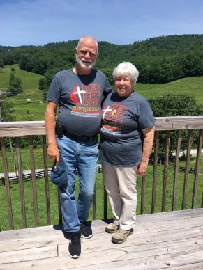 Bill and Laura Roy travel every summer to volunteer at Henderson Settlement in Frakes, Kentucky. (l-r: Bill Roy, Laura Roy)
