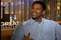 Denzel Washington talks about his film