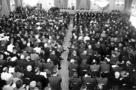 The 1968 United Conference founded The United Methodist Church.